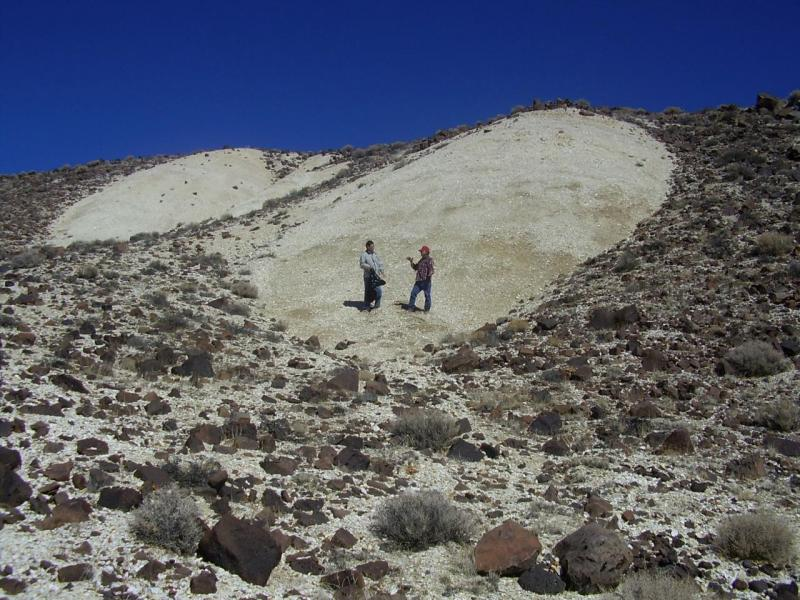 Diatomite at the Surface
